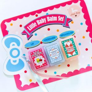 Little Baby Balm Set 3in1 Lip, Underarm, Nipple and Dull skin