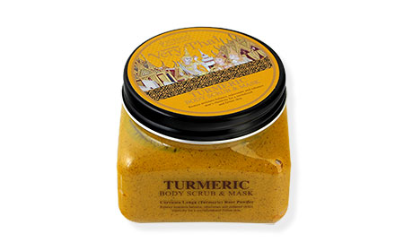 Scentio Turmeric Body Scrub and Mask 300ml